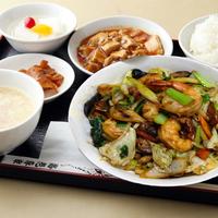大海老野菜炒め